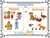 Characters and Setting Visual