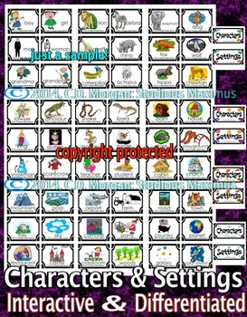 Characters and Settings. CCS Aligned.