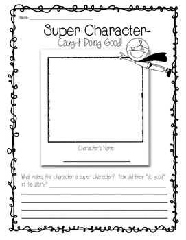 Characters are Super!