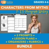 Characters from Greek Mythology   One- and Five-Paragraph Argumentative Writing