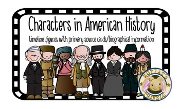 Characters in American History Classroom Timeline