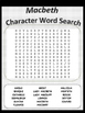 Characters of Macbeth Word Search