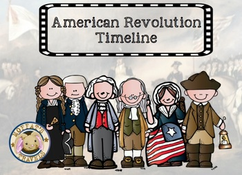 Characters of the American Revolution Timeline, Quotes and