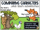 Characters & their Adventures Compare/Contrast Stories ELA