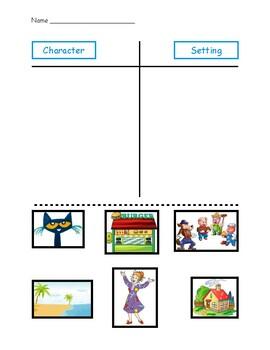 Characters vs. Setting Sort