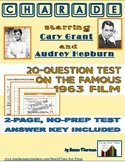 Charade: 20-Question Test on the Film | Distance Learning