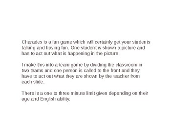Charades Game 2