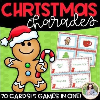 Charades & Other Games Bundle: Halloween, Autumn/Fall, Christmas