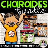 Charades & Other Games Bundle: Halloween, Autumn/Fall, Christmas