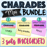 Charades Mini Bundle - Emotions & Coping Skills Charades Bundle
