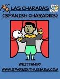 Charades Spanish Vocabulary Game / Clothing, Materials, Classroom, Body, Health