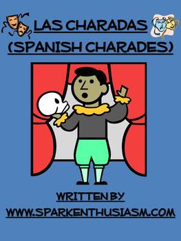 Charades Spanish Vocabulary Game / Clothing, Materials, Classroom, Body, Health
