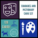 Charades and Pictionary Pack - 128 Card Set