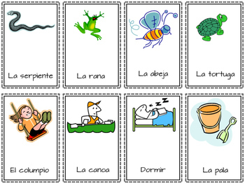 Charades in Spanish, Summer Theme (games, vocabulary)