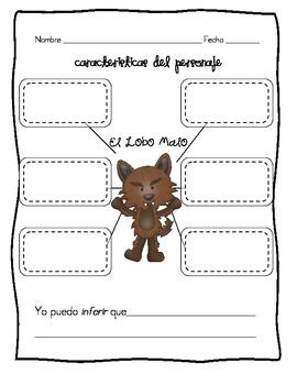 Charater Traits: Ricitos de Oro and el Lobo