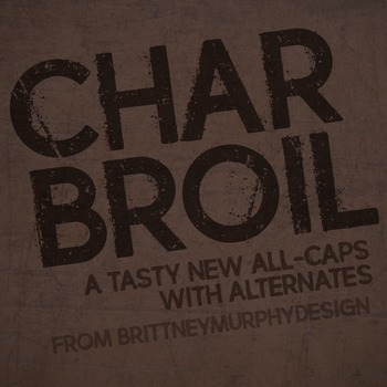 Charbroil Font for Commercial Use
