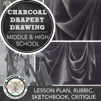 Charcoal Drapery Drawing Project: Introduction to Charcoal and Art Basics
