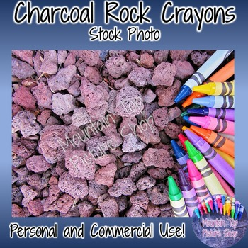 Charcoal Rock Crayons (Stock Photo)