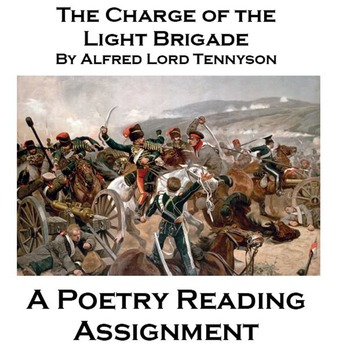 Charge of the Light Brigade Poetry Tasks ...