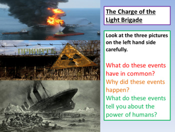 Charge of the Light Brigade - Power and Conflict