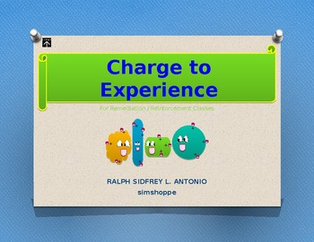 Charge to Experience - Strategic Intervention Material