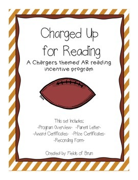 "AR Reading Incentive Program ""Charged Up for Reading"""