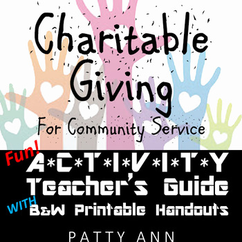 Charitable Giving for Community Service > Teacher Guide w/
