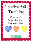 Charitable Organizations - Thematic Unit (Full)