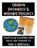 Charity PBL Language Arts Project Based Learning Unit