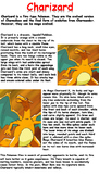 Charizard Reading Comprehension
