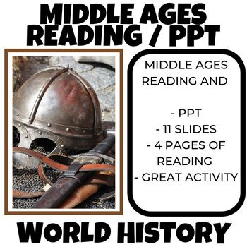 Middle Age Reading Guide World History