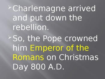 Charlemagne Part 3
