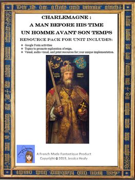 Charlemagne - Un homme avant son temps (Resource Pack and Google Form)