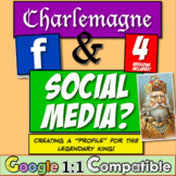 "Charlemagne and Social Media?  Creating a ""profile"" for this legendary king!"