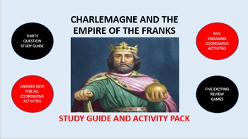 Charlemagne and the Empire of the Franks: Study Guide and Activity Pack