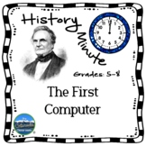 Charles Babbage History Minute Cross Curricular History an