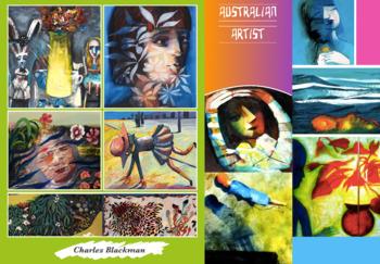 Charles Blackman - Artist - Australia Art - Melbourne - FREE POSTER