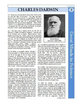 Charles darwin primary homework help