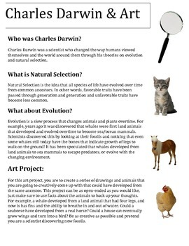 Charles Darwin and Art Project, Science and Art Common Core