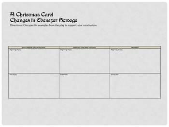 """""""A Christmas Carol"""" by Charles Dickens Complete two week unit"""