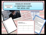 """A Christmas Carol"" by Charles Dickens Complete two week unit"