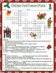 "Charles Dickens ""A Christmas Carol"" Crossword Word Search Quiz Essay Activities"