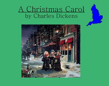 Charles Dickens A Christmas Carol smartboard