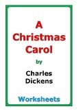 "Charles Dickens ""A Christmas Carol"" worksheets"