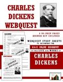 Charles Dickens Webquest (8 Pg., 56 Questions, Ans. Key Inc.)