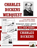 Charles Dickens Webquest (8 Pg., 56 Questions, Ans. Key Inc.)