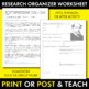Charles Dickens Author Study Worksheet, Easy Biography Activity, CCSS