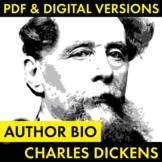 Charles Dickens Author Study Worksheet, PDF & Google Drive