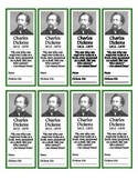 Charles Dickens Bookmarks (FREE!)