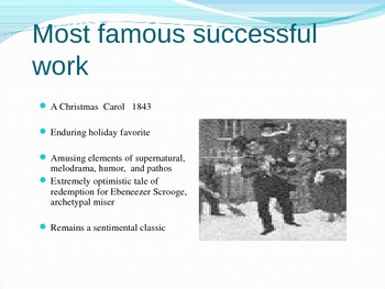 Charles Dicken's Life & Works Presentation (ppt)